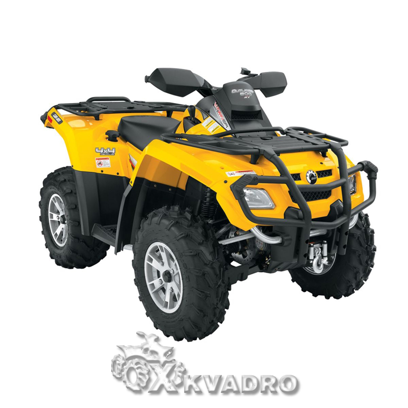 Can-am Outlander 500/ 650/ 800 G1 - защита днища для квадроцикла