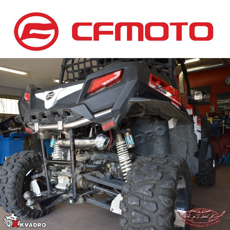 Глушитель для квадроцикла CF Moto CF800-Z8 EFI