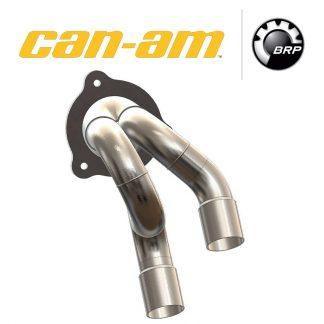 Паук с удаленным катализатором для квадроцикла Can-am Maverick 1000