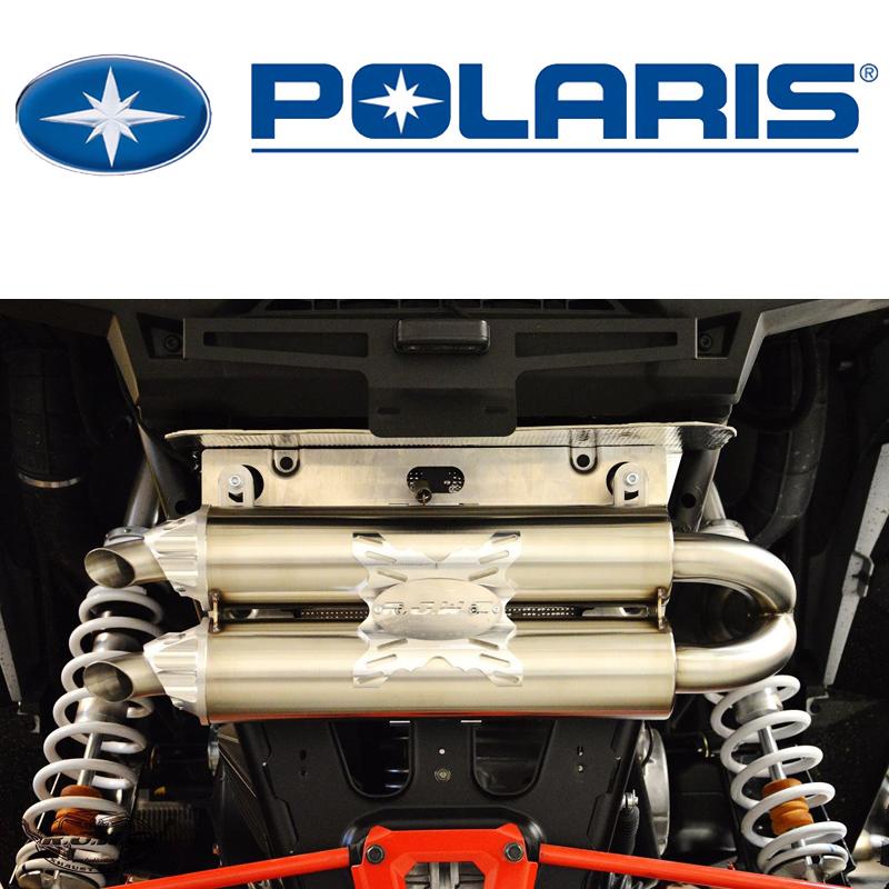 Полная система выпуска RJWC для Polaris RZR 1000 (2014 г.в.-н.в.)