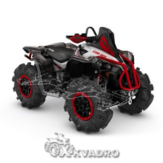 Can-am Renegade XMR — защита днища для квадроцикла