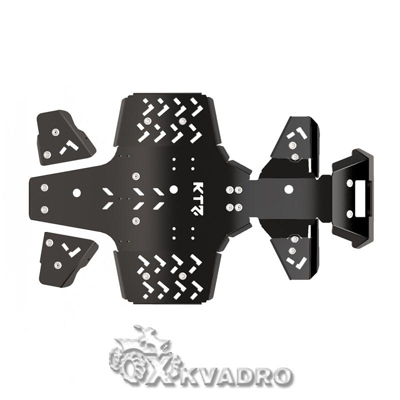 Yamaha Grizzly 700 — защита днища для квадроцикла