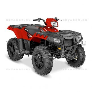 Polaris Sportsman XP 1000 — защита днища для квадроцикла